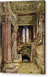 Rosslyn Chapel, Scotland Acrylic Print