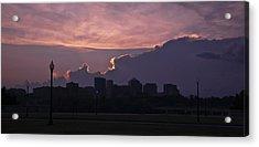 Rosslyn Skyline Acrylic Print