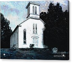 Rossville Church And Cemetery Acrylic Print