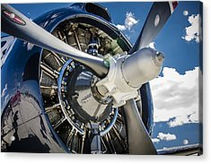Rotary Engine And Prop Acrylic Print
