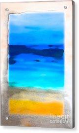 Rotcho Maui Film Grain Acrylic Print