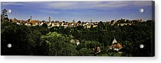 Rothenburg Panorama Acrylic Print by Joanna Madloch