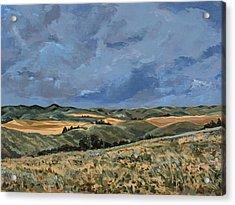 Rotten Grass Acrylic Print