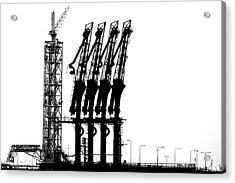 Rotterdam-harbour Acrylic Print