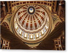 Rotunda Dome On Wings Acrylic Print
