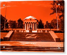Rotunda Uva Orange Acrylic Print