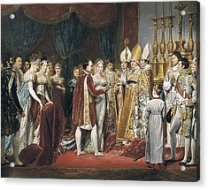 Rouget, Georges 1784-1869. The Marriage Acrylic Print by Everett