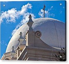 Round Dome Acrylic Print