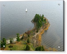 Round The Point  Pinheys Point Ontario Acrylic Print