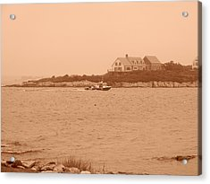 Acrylic Print featuring the photograph Rounding The Point by Jean Goodwin Brooks