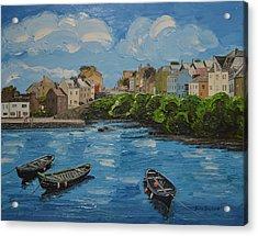 Roundstone Harbour Connemara Ireland Acrylic Print