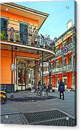 Rouses Market Painted Acrylic Print by Steve Harrington
