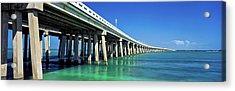 Route 1 Overseas Highway, Bahia Honda Acrylic Print
