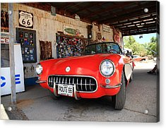 Route 66 Corvette Acrylic Print