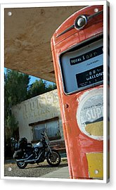 Route 66 Harley Acrylic Print