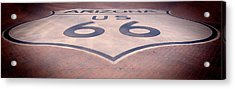 Route 66 In Brick  Acrylic Print