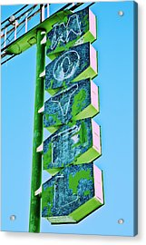 Acrylic Print featuring the photograph Route 66 Motel Sign by Gigi Ebert