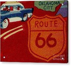 Route 66 Oklahoma City Acrylic Print