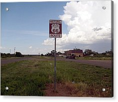 Acrylic Print featuring the photograph Route 66 by Philomena Zito