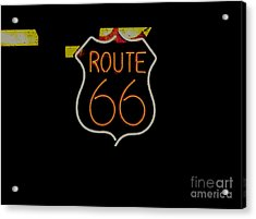 Route 66 Revisited Acrylic Print by Kelly Awad