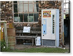 Route 66 Sinclair Gas Station Acrylic Print by Frank Romeo