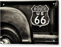 Route 66 Acrylic Print by Tim Gainey