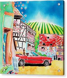 Route Des Vins Acrylic Print