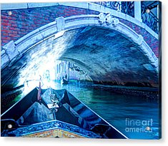 Acrylic Print featuring the photograph Route To Light by Hanza Turgul