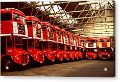 Routemasters Acrylic Print