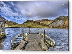 Row Ya Boat  Acrylic Print by Darren Wilkes