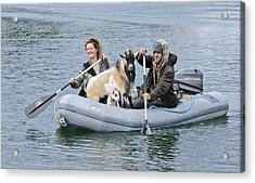 Row Your Goat Acrylic Print