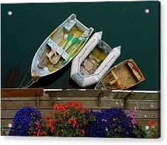 Rowboat Family Acrylic Print