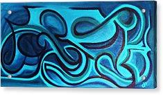 Rowboating Acrylic Print