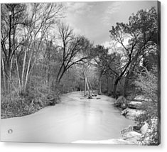 Acrylic Print featuring the photograph Rowlett Creek by Darryl Dalton