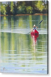 Rows Her Own - Celebrating The Feminine Spirit Acrylic Print