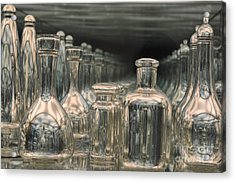 Acrylic Print featuring the photograph Rows Of Bottles by Randi Grace Nilsberg