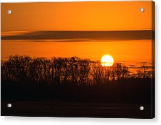 Acrylic Print featuring the photograph Roxanna Sunrise by Bill Swartwout