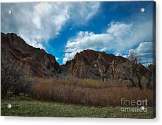 Roxborough Cragginess Acrylic Print