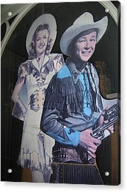 Roy Rogers And Dale Evans #2 Cut-outs Tombstone Arizona 2004 Acrylic Print