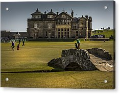 Wall Pictures Royal And Ancient Golf Club Acrylic Print