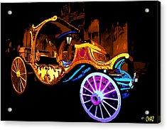 Royal Carriage Acrylic Print