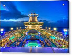 Royal Carribean Cruise Ship  Acrylic Print
