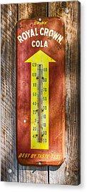 Royal Crown Barn Thermometer Acrylic Print