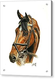 Royal Delta Acrylic Print by Pat DeLong