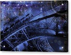 Royal Eiffel Tower Acrylic Print