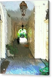 Royal Entrance Acrylic Print