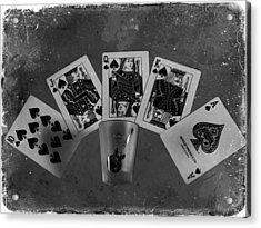 Royal Flush In Nashville Tennessee Acrylic Print by Dan Sproul