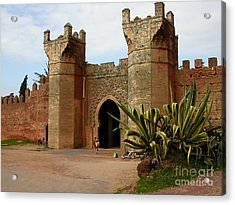Royal Grounds Acrylic Print by Sophie Vigneault