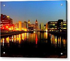 Royal Liver Building Liverpool  Acrylic Print