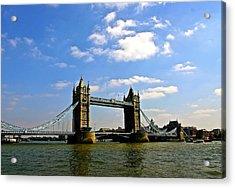 Royal London Bridge Acrylic Print